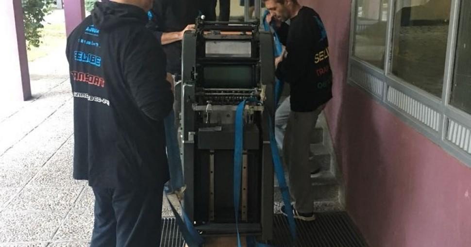 Selidba štamparije i štamparskih mašina