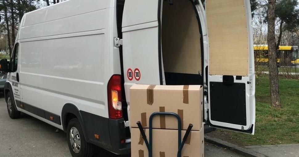 Kartonske kutije za selidbe - materijal za pakovanje