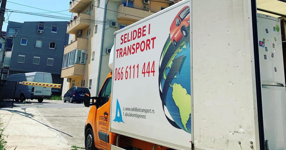 Kamion za selidbe